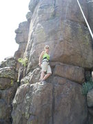 Rock Climbing Photo: Getting ready to climb second section of Tenacious...