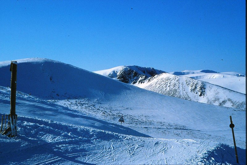 Rock Climbing Photo: The Northern Corries from the Cairngorm ski area.