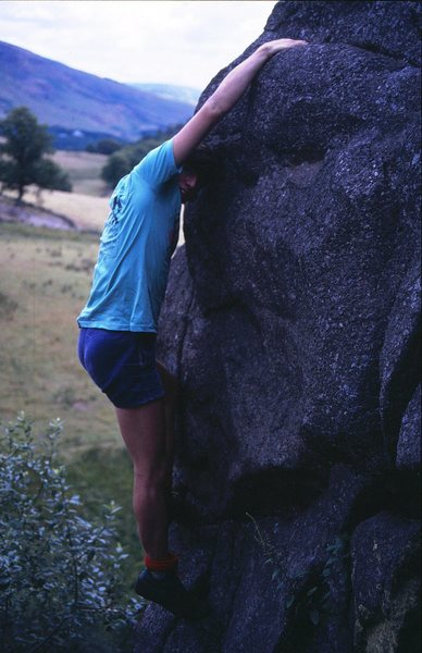 Rock Climbing Photo: A classic boulder problem