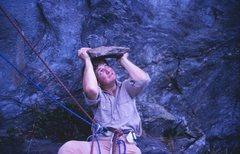 Rock Climbing Photo: Helmet anyone?