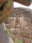 Rock Climbing Photo: Monkeying around