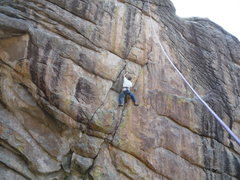 Rock Climbing Photo: Not so pumpy on Top Rope but still lots of fun.