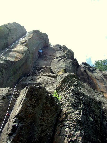 Rock Climbing Photo: Fool's Game