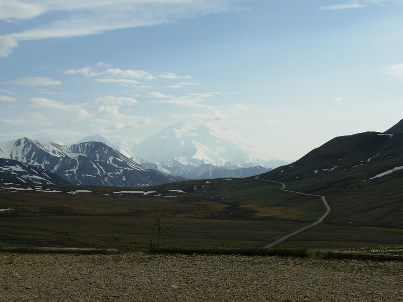 Rock Climbing Photo: Denali from Stony Dome.