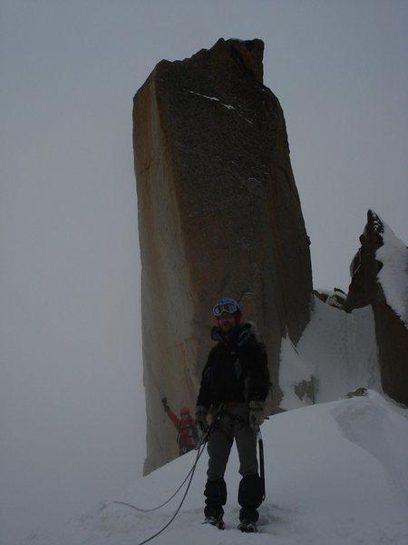 aiguille du midi (mont blanc), june 15th