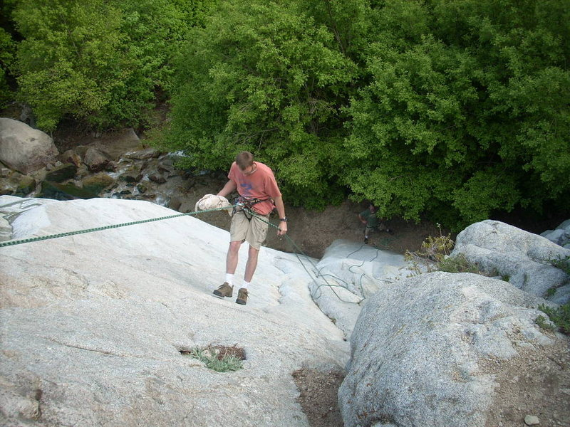 setting top rope