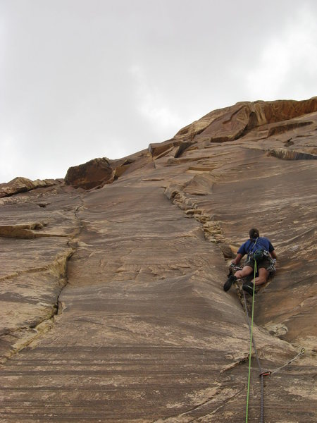 Mike on Pitch 6 (10a) of Texas Hold Em.