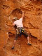 Rock Climbing Photo: on-sight go..