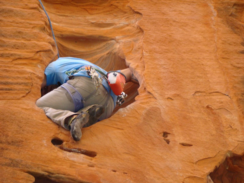 Rock Climbing Photo: lots of rests, arm-bars, knee bars, and the occasi...