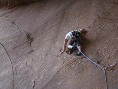 Rock Climbing Photo: steep ribs and flake start...