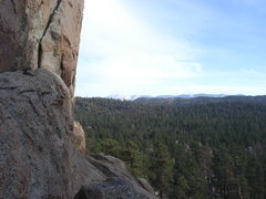 Rock Climbing Photo: Mt. San Gorgonio from the central pinnacles.
