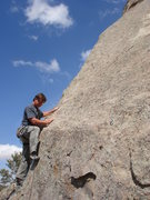 Rock Climbing Photo: About to finish the lower section of A Midsummer's...