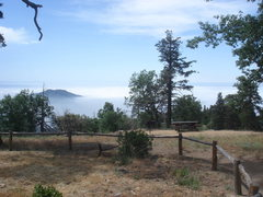 Rock Climbing Photo: View of the picnic area from the parking lot.  Hea...