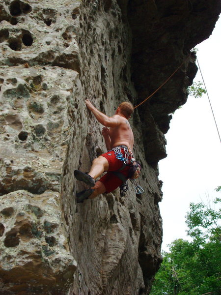Rock Climbing Photo: HCR Sour Girl