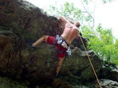 Rock Climbing Photo: Sour Girl