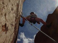 Rock Climbing Photo: Honeymoon Chimney-Pitch 3