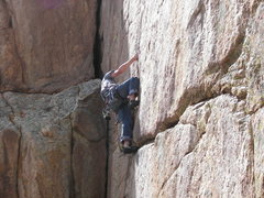 Rock Climbing Photo: A Question of Balance - Taylor Canyon