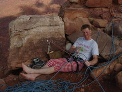 Rock Climbing Photo: Top o' the Preist