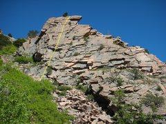 Rock Climbing Photo: Ubud topo