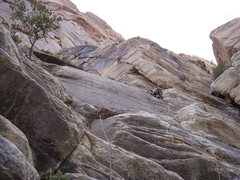 Rock Climbing Photo: Darren on first pitch (5.8) of Texas Hold Em. phot...