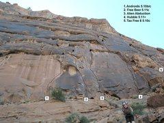 Rock Climbing Photo: 15 minute approach...