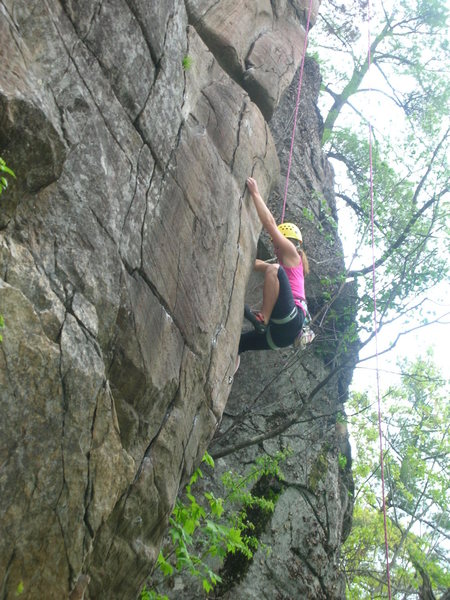 Rock Climbing Photo: Rock on Kat!
