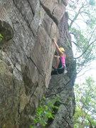 Rock Climbing Photo: Rock on Kat!