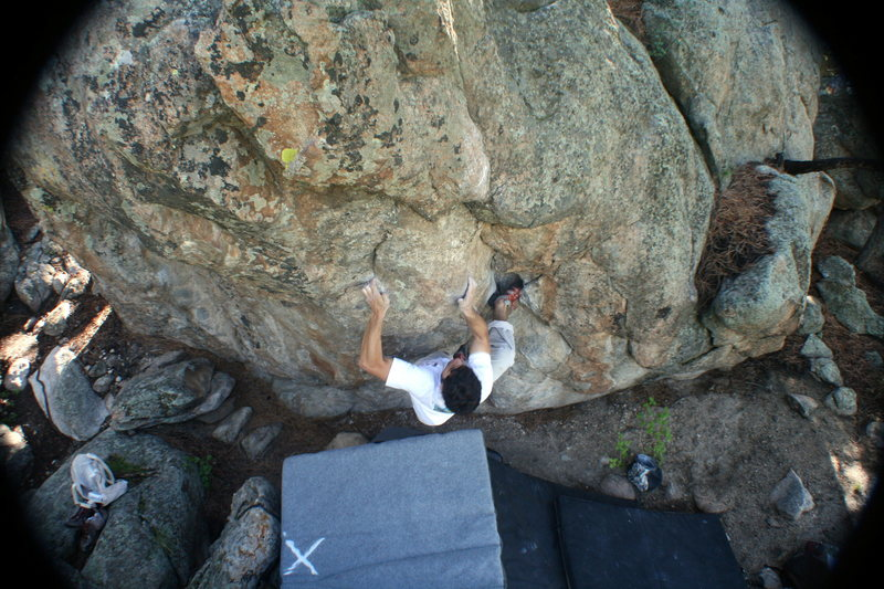 Rock Climbing Photo: Said cruising The Captain. Photo by Luke Childers.