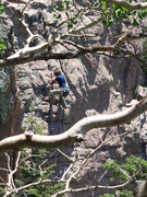 Rock Climbing Photo: Marc Ripper... loving the one downward pulling hol...