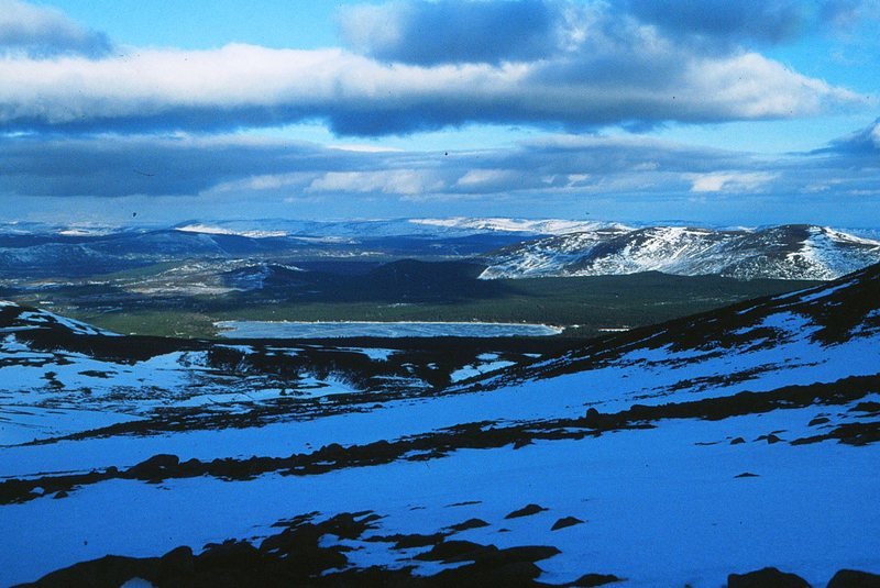 Rock Climbing Photo: Loch Morlich from the Northern Corries