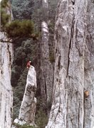 Rock Climbing Photo: Me on Right age 16 006.jpg