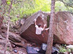 Rock Climbing Photo: tyson h crushing