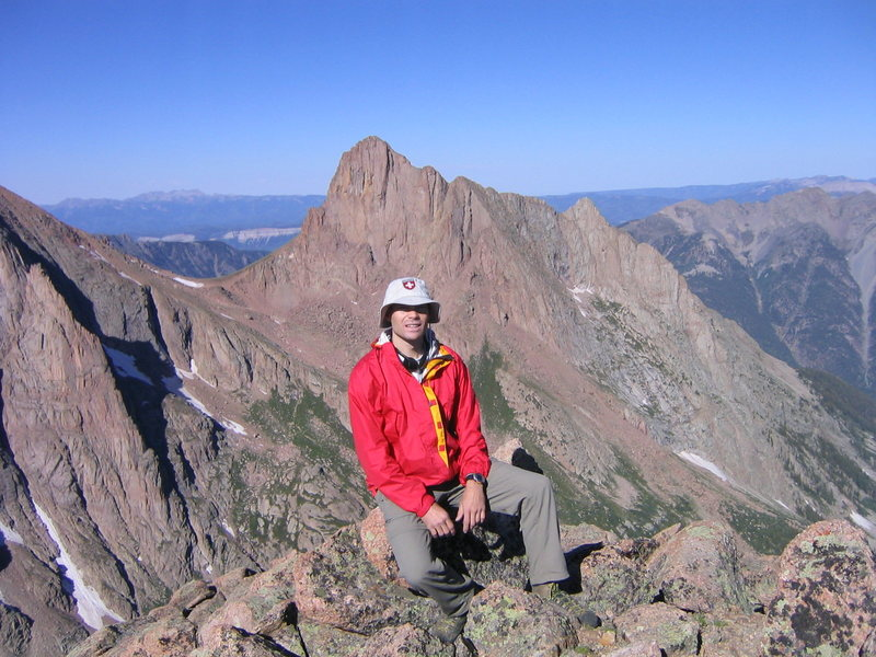 Rock Climbing Photo: Pigeon Peak from Monitor Peak.