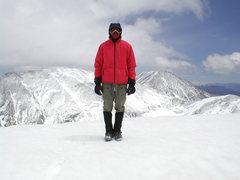 Rock Climbing Photo: Summit of Ruby Mountain.
