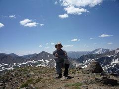 Rock Climbing Photo: On Mt. Champion.
