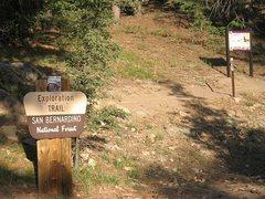 Rock Climbing Photo: Lower trailhead for the Exploration Trail, Keller ...