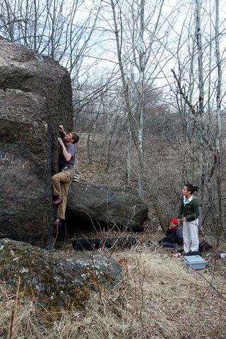 Rock Climbing Photo: south face 2, photo credit Justin Edberg