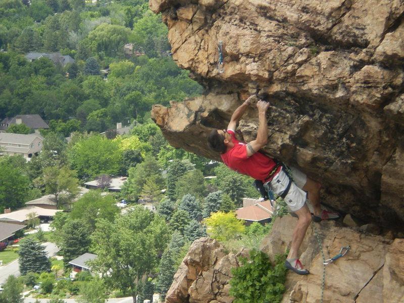 Rock Climbing Photo: short roof