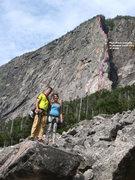 Rock Climbing Photo: Whitney Gilman route
