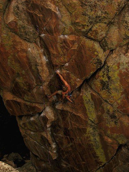 Ben Randolph be rock climbin'