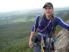Rock Climbing Photo: Levi the Hungarian Chemist and an accomplished cli...