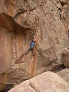 Rock Climbing Photo: Glenn Schuler on Rabbit Hole .