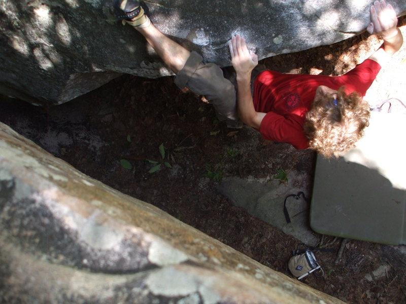 Rock Climbing Photo: swirls, again