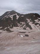 Rock Climbing Photo: Sloan Lake with Handies Peak