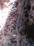 Rock Climbing Photo: Cody cruisin' the Gravity Cavity. June 21, 2009.