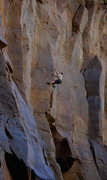 Rock Climbing Photo: Janes making it happen on a well played, onsight s...