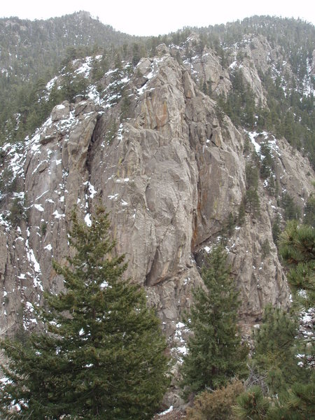 Rock Climbing Photo: Bell Buttress.