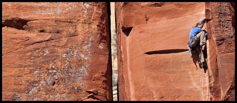 Rock Climbing Photo: Turkish Delight, Sedona, AZ.  Photo by D. Berry
