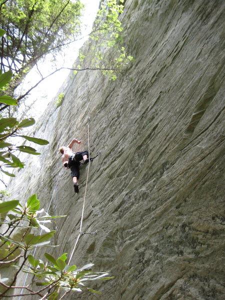 Rock Climbing Photo: sending App Spring- Spring '09