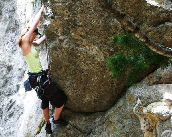 Rock Climbing Photo: Boulder Canyon